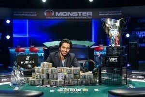 Moshin Charania Wins WPT Five Diamond Classic