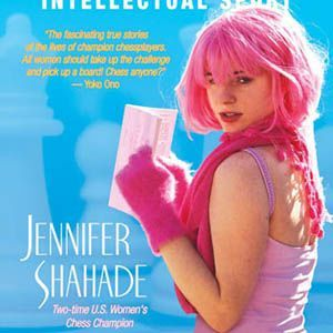 Jennifer Shahade book cover Chess Bitch
