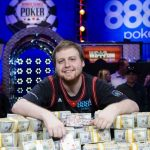 2015 WSOP Main Event winner Joe McKeehen and his $7,683,346 stash of cash. Who will win the 2016 Main Event? (Image: WSOP.com)