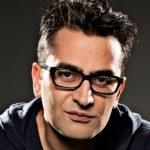 Call of Nature: Antonio Esfandiari lunging around at the PCA shortly before he was ejected from the tournament. (Image: pokernews.com)