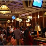 The current Wynn poker room will be replaced by a bigger and better one, opening up in Las Vegas this coming May.  (Image:  Nevadacasinochips.com)