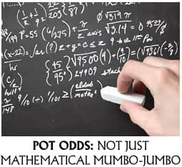 Maths of POker odds