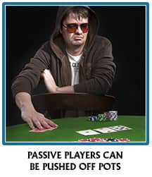 Passive poker play