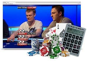 TV Poker Odds