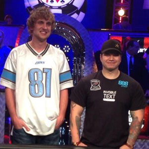 Ryan Riess and Jay Farber are Heads Up at the WSOP Main Event Final Table