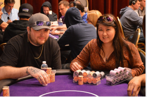 Team CardsChat, Kristin Ting, Rex Clinkscales, Little One for One Drop, WSOP 2014, World Series of Poker