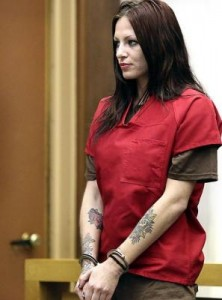 Call girl Alix Tichelman faces the judge on manslaughter charges last week.