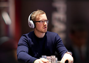 Final day chip leader at 2014 WSOP Main Event is Martin Jacobson of Sweden.