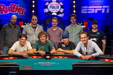 Mark Newhouse could make a second November Nine showing, which would be two years running at the WSOP Main Event.