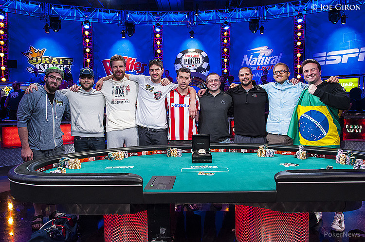 The 2014 WSOP November Nine players happy to have the chance to fight for $10 million.