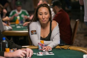 Melissa Burr, $50K Poker Players Championship, World Series of Poker 2014