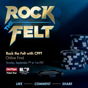The Bicycle Casino stop of the CPPT will host a Rock the Felt promotion and give away seats to tournaments.