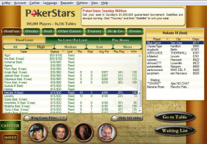 PokerStars lobby coming to New Jersey