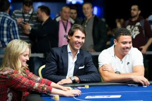 Rafa Nadal and Ronaldo Nazario PokerStars Duel
