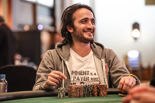 Belgian poker player David Kitai