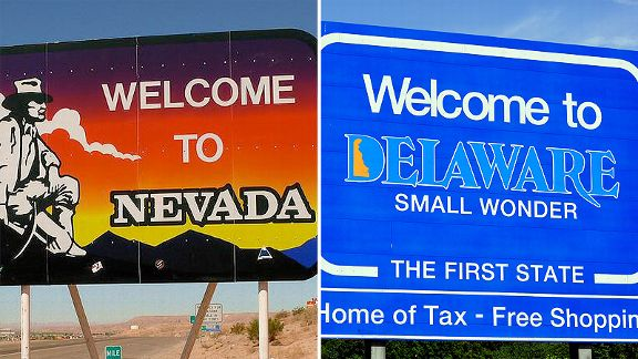 nevada and delaware online gaming