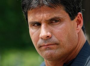 Jose Canseco loses a finger