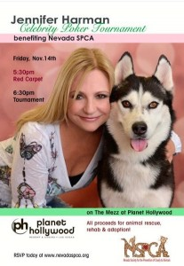 NSPCA Jennifer Harman poker tournament