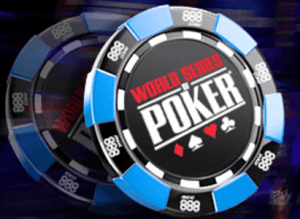 WSOP.com and 888poker logos