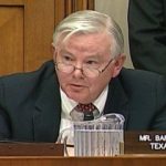 US Representative Joe Barton of Texas Pushes Federal Poker Bill