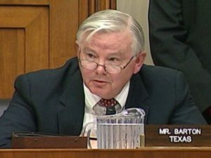 Joe Barton federal online poker bill