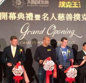 Phil Ivey launches a new poker room in Macau.