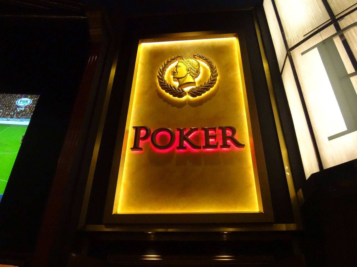 Caesars Palace poker room