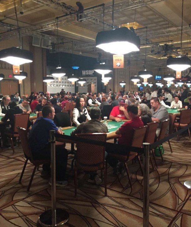 Day One WSOP 2015