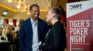 Tiger Woods, WPT charity poker
