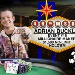 WSOP Day 15: Adrian Buckley Scoops Millionaire Maker with First-Ever Series Cash