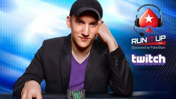 Jason Somerville Run It Up PokerStars Twitch