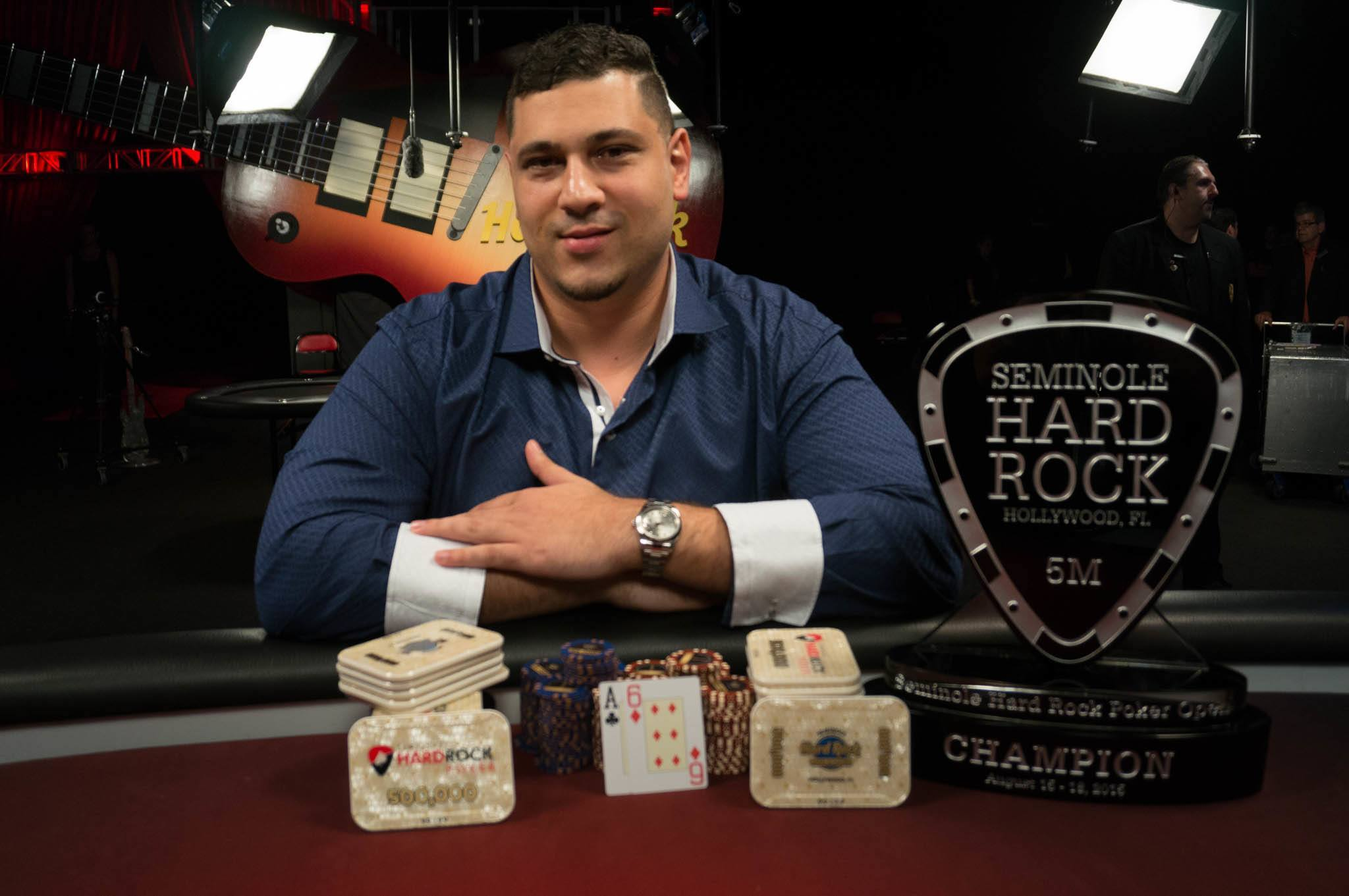 Omar Zazay Seminole Hard Rock Poker Open