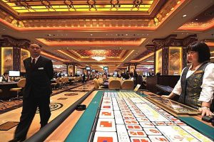 Junket operators Macau casinos theft