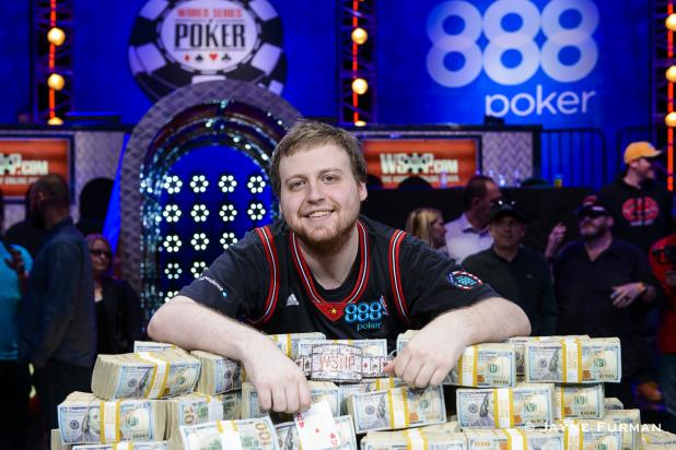 world series of poker main event champions