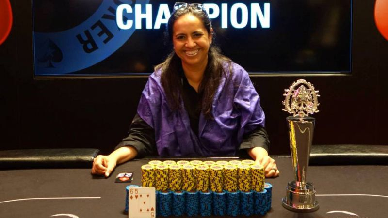 anju abrol India women poker players