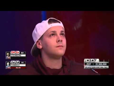 Cannuli busts 6th place in WSOP 2015
