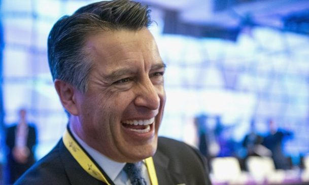 Governor Brian Sandoval Nevada online poker