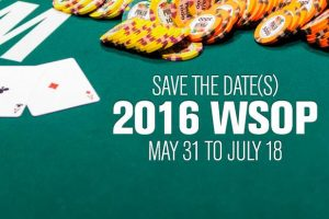 WSOP 2016 changes.