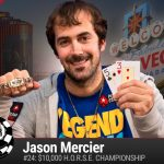 Jason Mercier won a pair of bracelets at the 2016 World Series of Poker, for which he earns the coveted CardsChat Top Player of the Series award.  (Image:  WSOP.com)