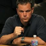 Matt Damon tells Rich Eisen that a story for Rounders 2 is currently in the works and he's interested. (Image: ultimatepokerinfo.com)