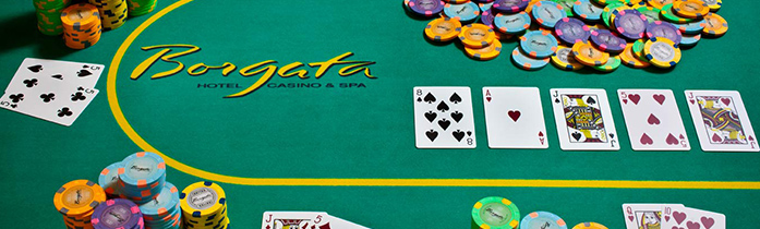 Borgata poker room New Jersey revenue up