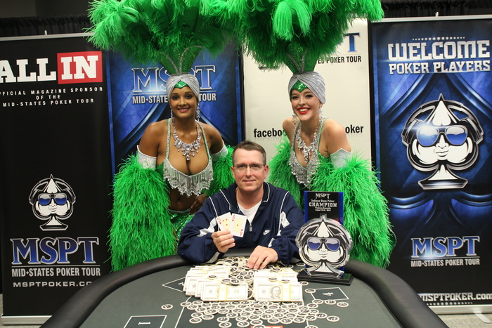 Earl Potter MSPT Indiana champion 2016