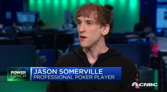 Jason Somerville CNBC Power Lunch US online poker