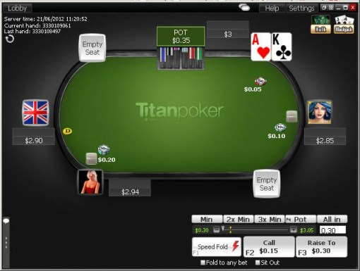 Playtech H1 2016 revenue increase Titan Poker