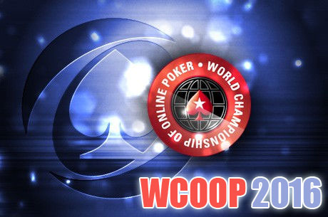 WCOOP 2016 new schedule