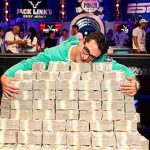 Antonio Esfandiari may have $27 million in career earnings but he's still signed on the dotted line with a prominent backing site, StakeKings. (Photo: WSOP)