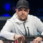 Colombia's Farid Jattin has a massive chip leading, and an intimidating stare-down, heading into Day Five of the 2016 WPT Borgata Poker Open.  (Image: codigopoker.com)