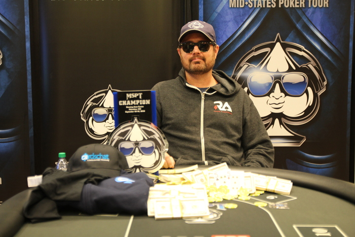 Jeremy Dresch Wins Second MSPT Title at Running Aces Main Event