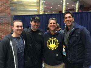 Phil Hellmuth Jim Harbaugh