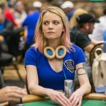 Cate Hall and Mike Dentale are playing for lower stakes than most expected, and poker fans aren't happy. (Image: wsop.com)